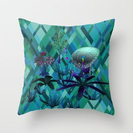 Fantasy Sea Life Throw Pillow