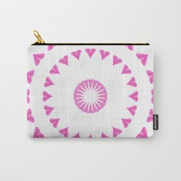 PINK HEART MANDALA Carry-All Pouch