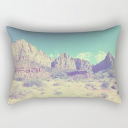 Utah rock landscape Rectangular Pillow