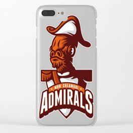 Mon Calamari Admirals T-Shirt Clear iPhone Case