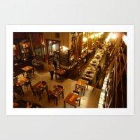 Libros del Pasaje, Buenos Aires Art Print