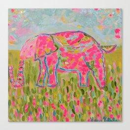 Jelly Bean The Elephant Canvas Print