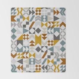 Mid West Geometric 06 Throw Blanket