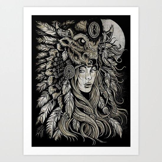 Spirit of the Buffalo Art Print