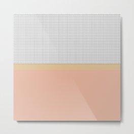 Grid 13 Metal Print