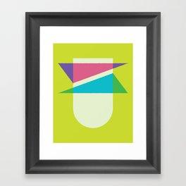 Cacho Shapes LXXVI Framed Art Print