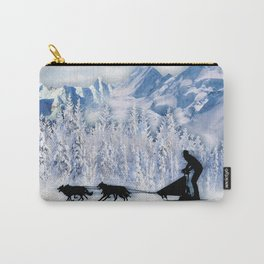 Dogsledding Carry-All Pouch