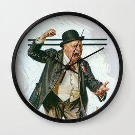 Joseph Christian Leyendecker - Statesman - Digital Remastered Edition Wall Clock