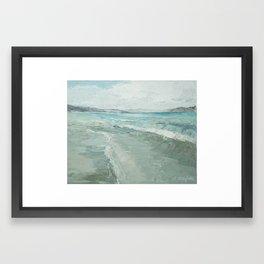 Bear Lake Waves Framed Art Print