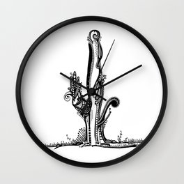 Cactus- My new home Wall Clock