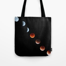 Super Moon Eclipse 2015 Tote Bag