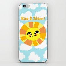 Rise and Shine! iPhone & iPod Skin