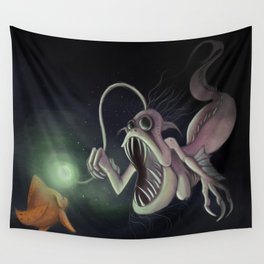 Amatheia the Cursed Wall Tapestry