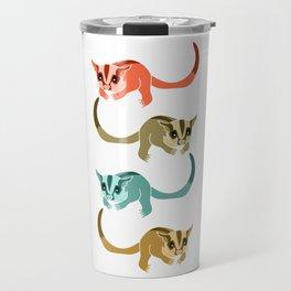 Sugar Glider Colorful Travel Mug