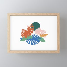 botanical dreamscape Framed Mini Art Print