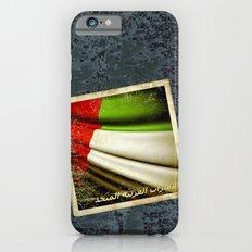 Grunge sticker of United Arab Emirates flag Slim Case iPhone 6s