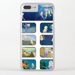 Little Sea Lady I Clear iPhone Case