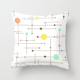 Ballastic Modern Circle Design Throw Pillow
