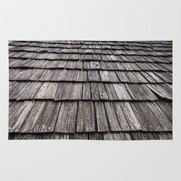 Wooden Roof Rug