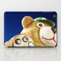 teddy bear iPad Cases featuring Teddy Bear by Luc Girouard