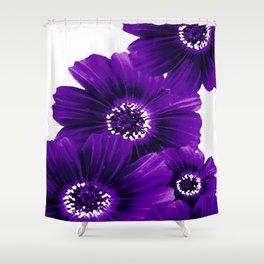 Floral Violet Shower Curtain
