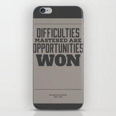 Difficulties iPhone & iPod Skin