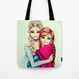 Frozen Sisters by Gabriella Livia Tote Bag