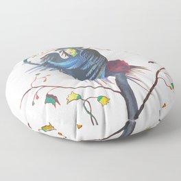 Gamaun Halloween Prophetic Raven Vector Floor Pillow