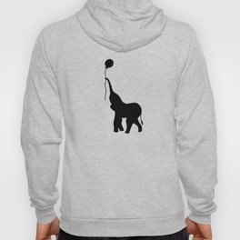 Elephant with Balloon - Mint Hoody