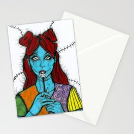 SALLY - THE NIGHTMARE BEFORE CHRISTMAS Stationery Cards