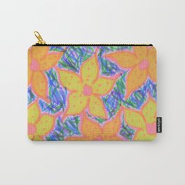 Refreshing Summer Flowers Carry-All Pouch