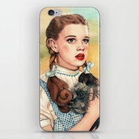helen iPhone & iPod Skins featuring I Don't Think We're In Kansas Anymore by Helen Green