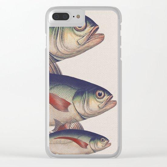 Fish Classic Designs 5 Clear iPhone Case