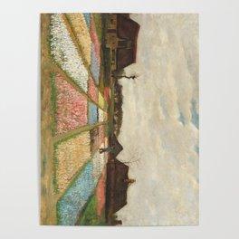 Van Gogh - Flower Beds in Holland / Bulb Fields Poster