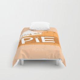 Easy as Pumpkin Pie Comforters