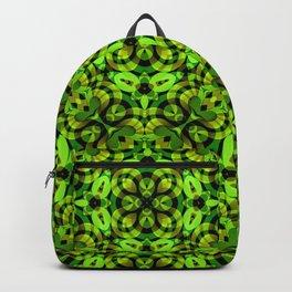 Floral Fractal Art G539 Backpack