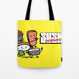 Sushi Revolution Tote Bag