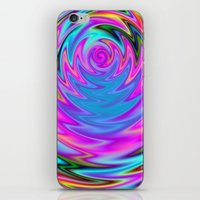 60s iPhone & iPod Skins featuring Psychedelic 60s by Alice Gosling