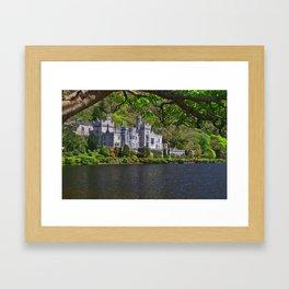 A trip  to Kylemore abbey Ireland Framed Art Print