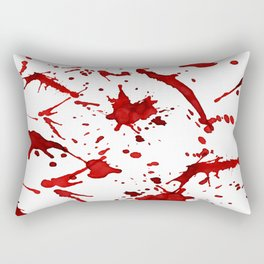 Bloody Mess Rectangular Pillow
