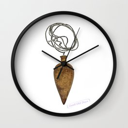 vintage plumb Wall Clock