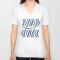 """technology V-neck T-shirts featuring Ancient technology by Gregory """"grillo"""" Ramos"""