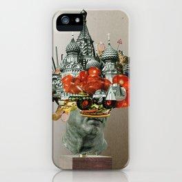 TomatenSalatStatue iPhone Case