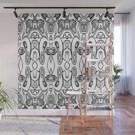 Variable pattern Wall Mural