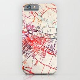 New Iberia map Louisiana LA iPhone Case