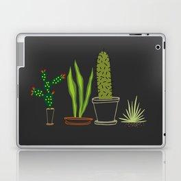 Cactus Trio (Black) Laptop & iPad Skin