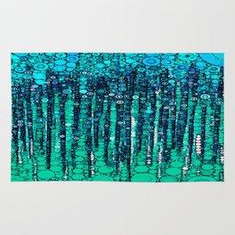 :: Blue Ocean Floor :: Rug