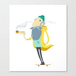 Street Sailor Canvas Print