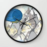led zeppelin Wall Clocks featuring Zeppelin by elambonebright