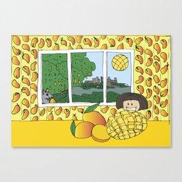 Mango Season Canvas Print